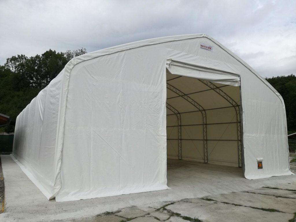 RECENZE: Pro naše potřeby skladování a dalších prostor využíváme plachtové haly MONTCOM